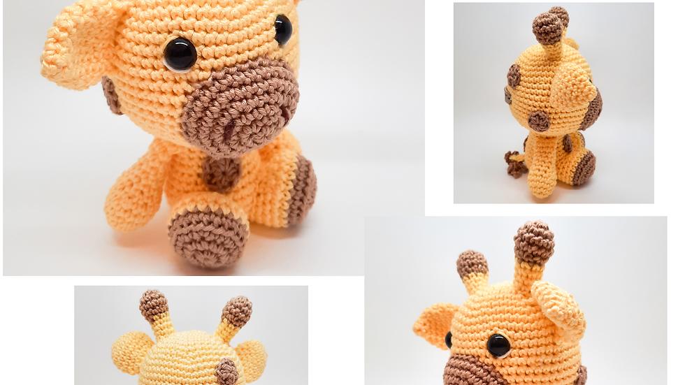 Amigurumi Girafa Baby