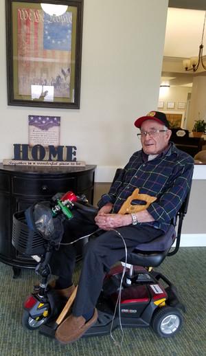 Honoring A Hometown Hero - Ova Huff