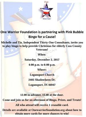 Pink Bubble Bingo!