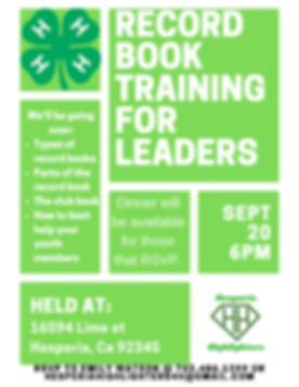 Leader Record Book Training 2019.png