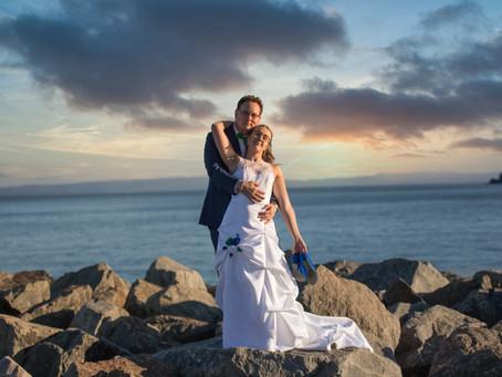 Mariage à Saint-Irénée dans la merveilleuse région de Charlevoix. Votre photographe Allez-up