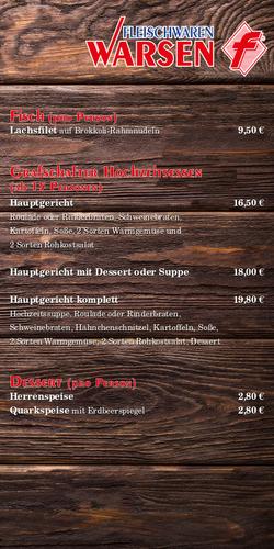 Partyservice-Flyer Seite 4