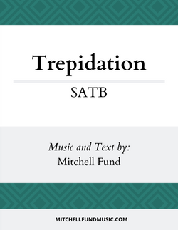 Trepidation - cover (SATB)