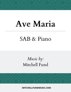 Ave Maria (SAB+P) Cover v2