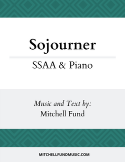 Sojourner (SSAA+P) Cover