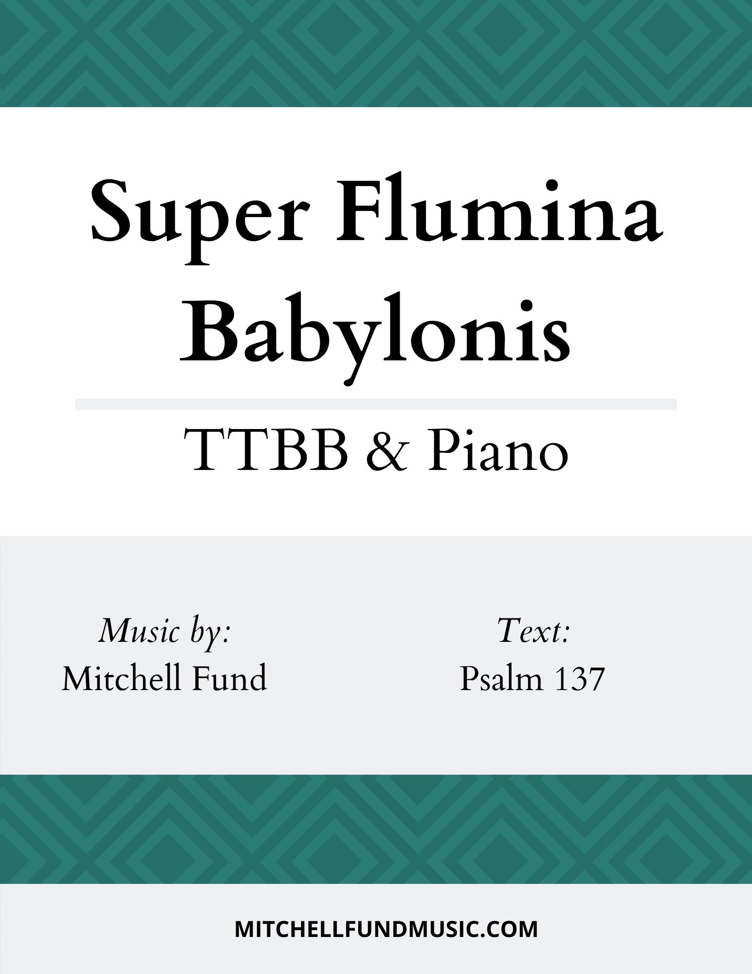 SFB (TTBB+P) Cover