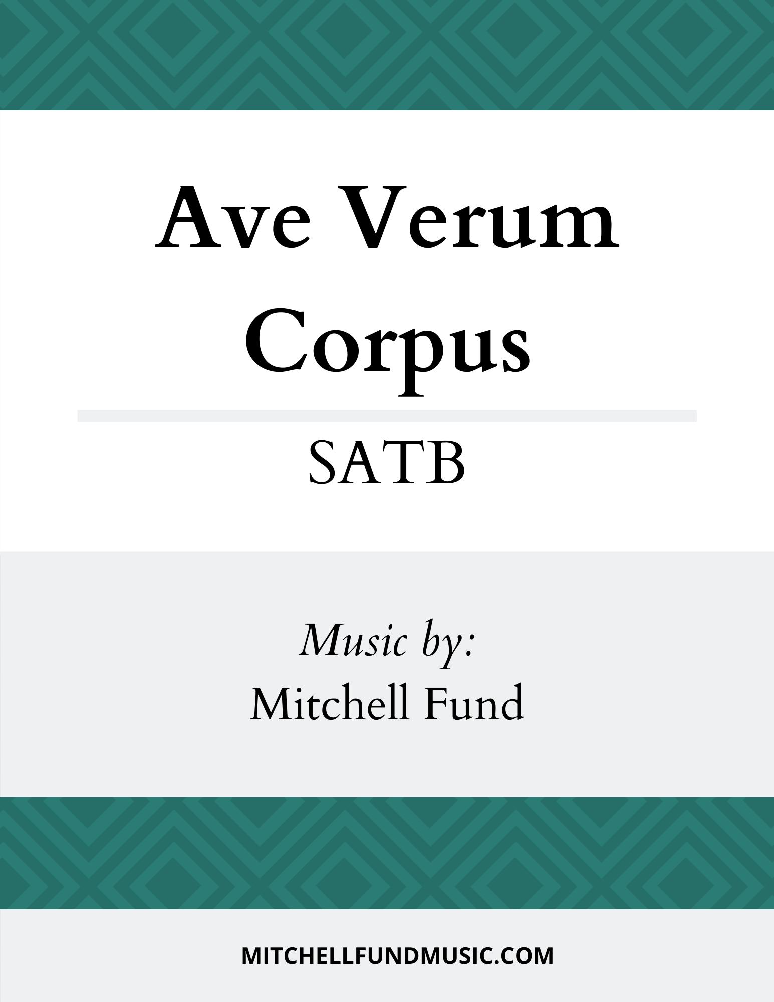 AVC (SATB) Cover