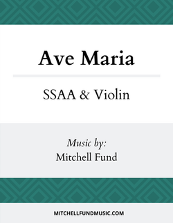 Ave Maria (SSAA+V) Cover