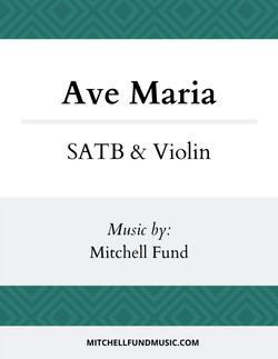 Ave Maria (SATB+V) Cover