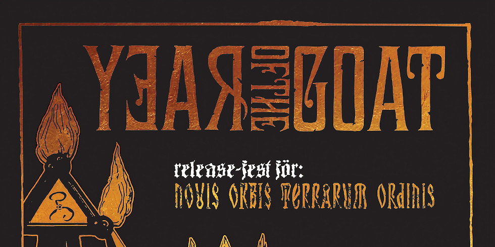 YEAR OF THE GOAT & THE DEAD VOICE RELEASEFEST