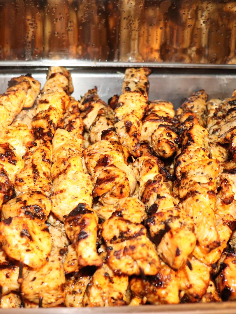 Chicken Souvlaki Catering Size