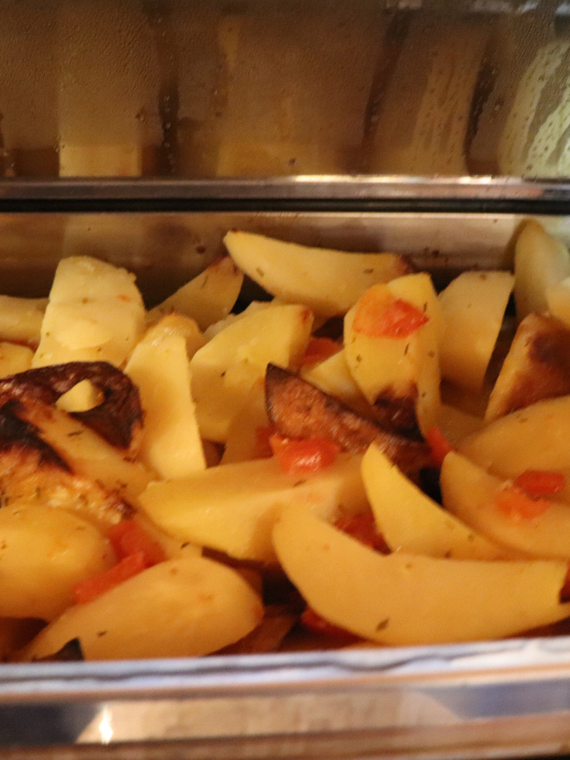 Lemon Roasted Potatoes Catering Size