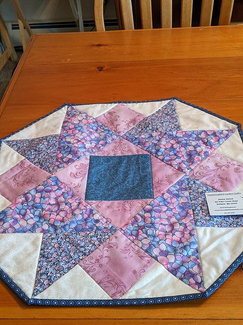 perky hexagonal table topper