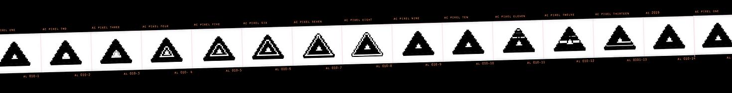 Avolve Logo Tri A Pixel Reel Vector Desi