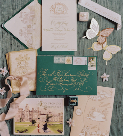 DESTINATION IRELAND: an enchanting castle wedding
