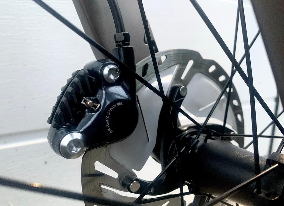 Detailed Shimano Disc Brakes