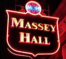 Massey Hall Marquee