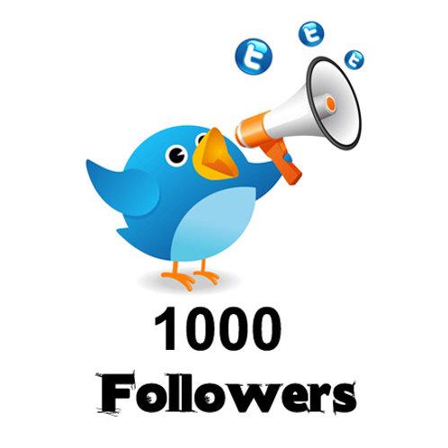 1,000 HQ Twitter followers