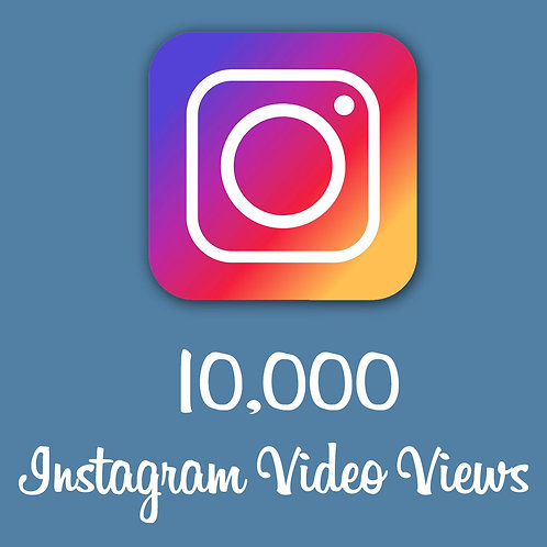 10,000 Instagram views