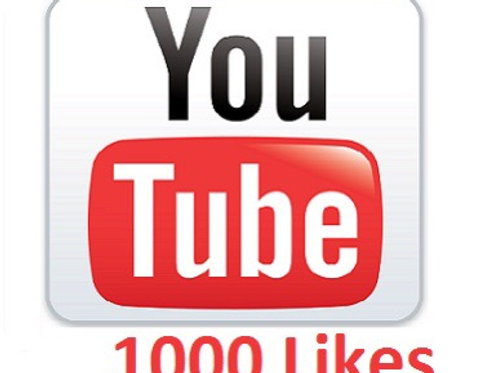 1000 YouTube likes. Split up to 5 videos