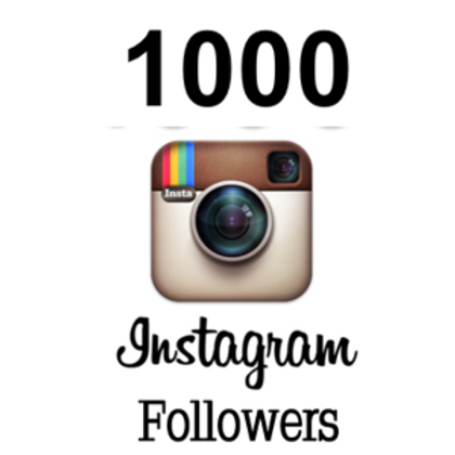 1000 Instagram followers INSTANT DELIVERY