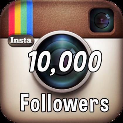 10k Instagram followers NON DROP. ON SALE.