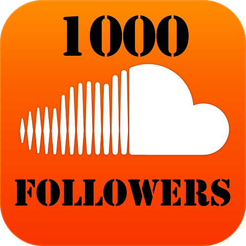 1,000 Soundcloud Followers INSTANT DELIVERY