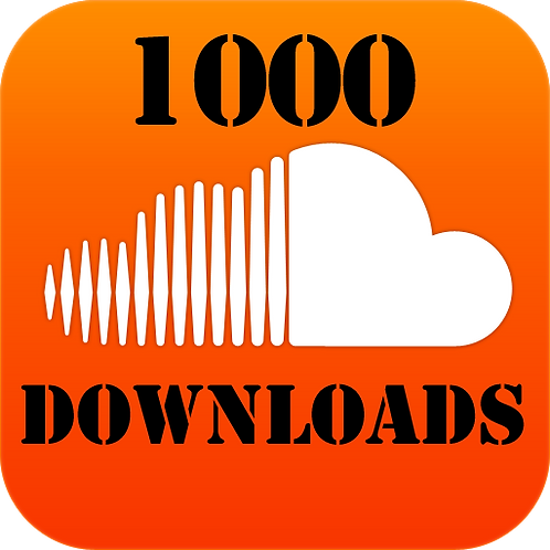 1,000 HQ Soundcloud download