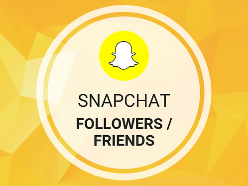 25 Snapchat friends/followers