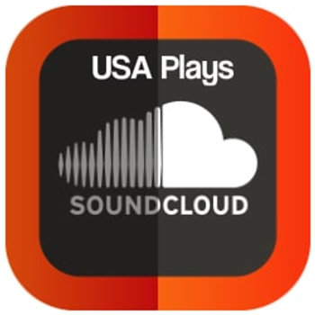 1000 USA Soundcloud plays INSTANT DELIVERY