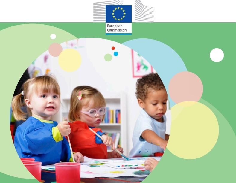 Titelseite des Werkzeugkasten für inklusive Frühe Bildung und Betreuung