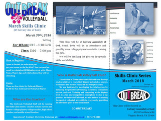 March Skills Clinic Date - Setters