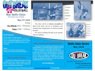 May Skills Clinic - Setters - Fri. 11th