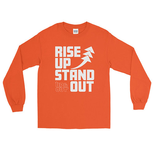RISE UP STAND OUT Long Sleeve T-Shirt