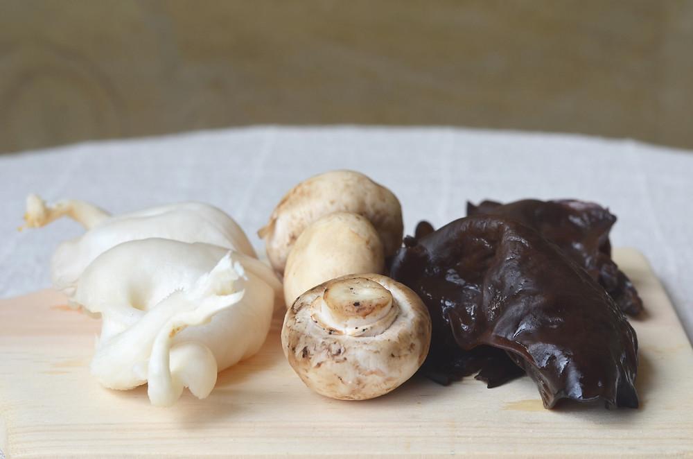 Mushroom Tofu Sisig Recipe (Vegan, Gluten-free) by the Healthy Row