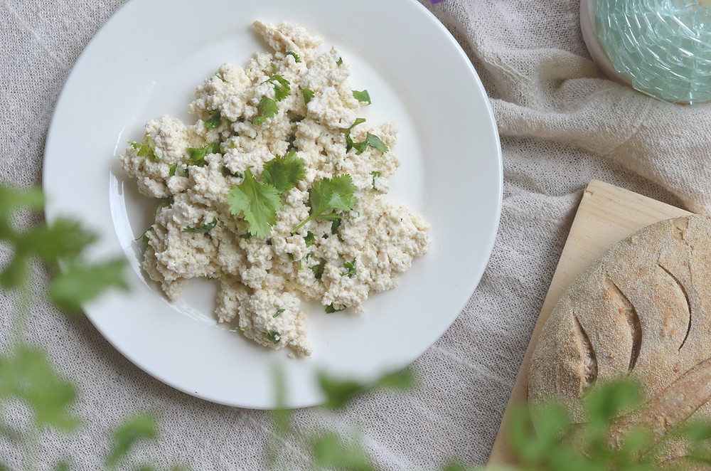 5-minute Tofu Ricotta Recipe by the Healthy Row