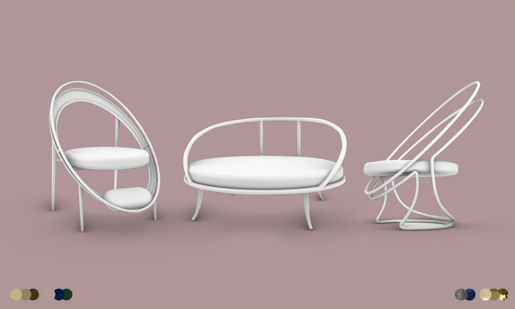 3D Ideation Sketches - Concept 4