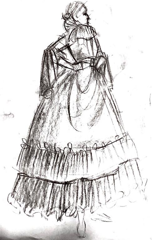 Live Sketch - Clothed Female