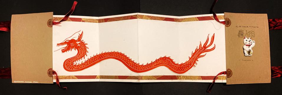 Chinatown (Accordian Book)