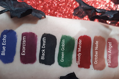 Witches poison kiss matte liquid lipsticks