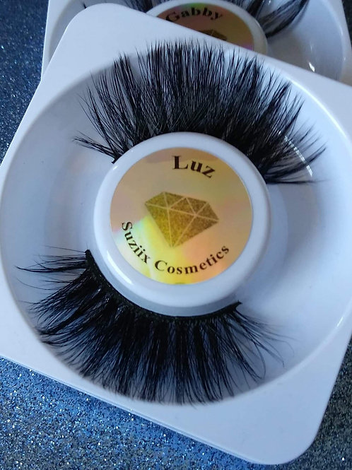 luz 25mm lashes