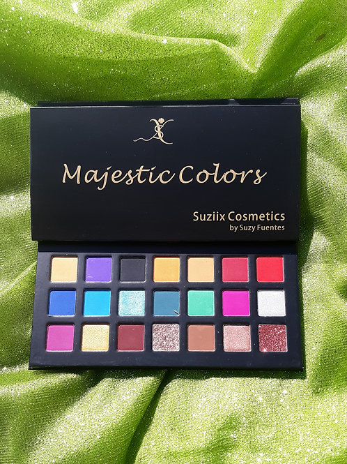 Majestic Colors Eye shadow Palette