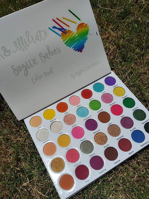 PR&Affiliate Suziix Babes Color Book