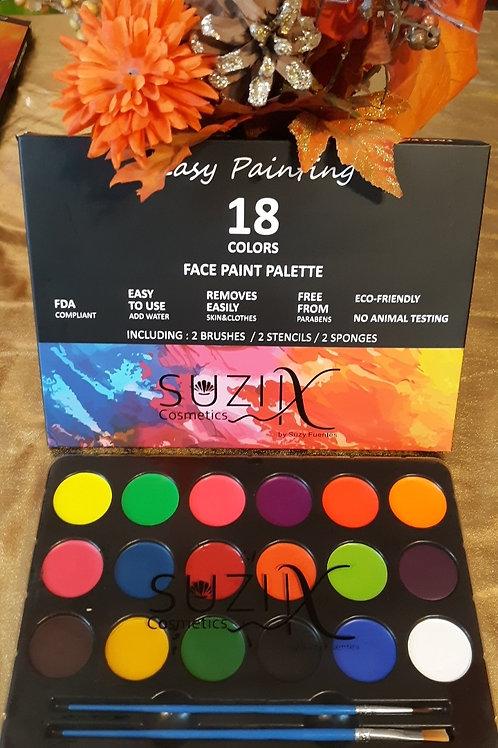 18 Color Paint Palette