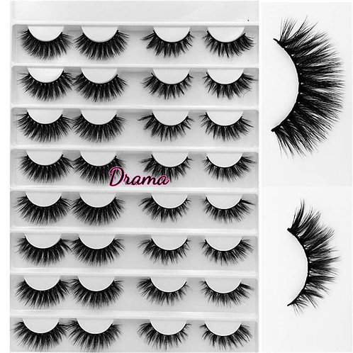 """Drama""16 pair Lash set"
