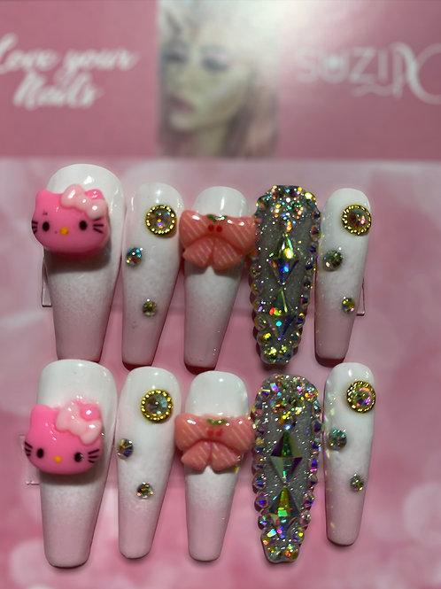 White Diamonds Hello Kitty