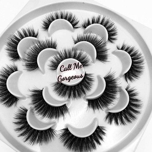 """Call Me Gorgeous"" flower lash set"