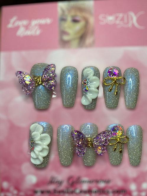 Purple Dream Butterfly