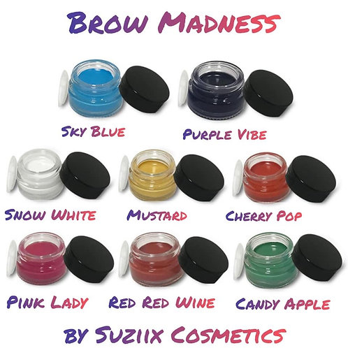 BROW MADNESS COLORED BROW POMADES