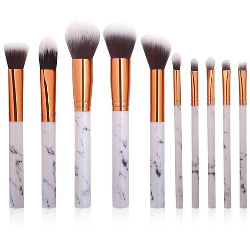 10 Pcs Marble brush set
